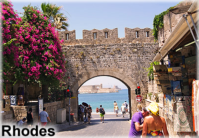 rhodes tours from Marmaris