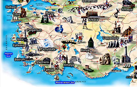 5 day tour from Izmir to Ephesus Pamukkale and Cappadocia